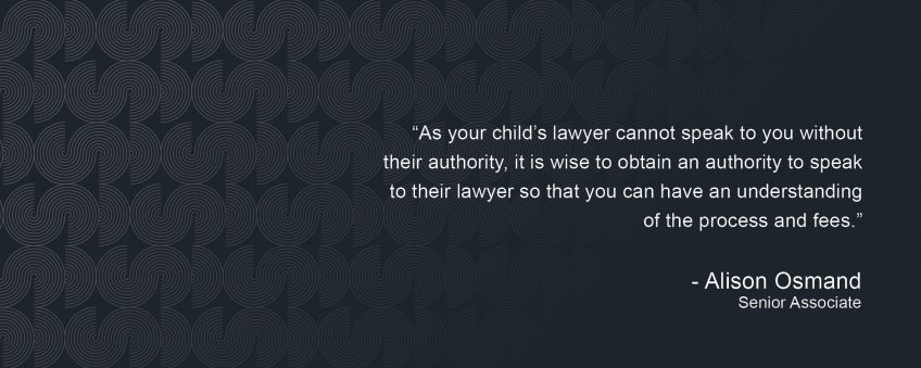 Paying Your Child's Legal Fees