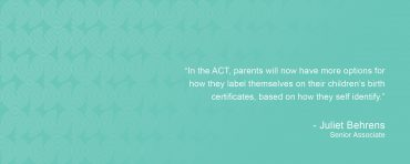 Birth Certificates To Better Represent Parent's Identities