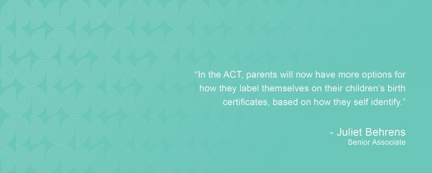 Birth Certificates To Better Represent Parent's Identities