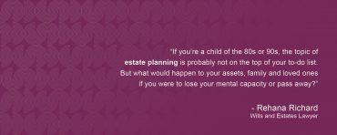 Talkin' bout Our Generation – Estate Planning for Gen Y