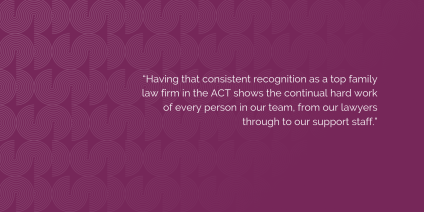 Doyle's Guide recognises DDCS Lawyers as top family law firm for 2019